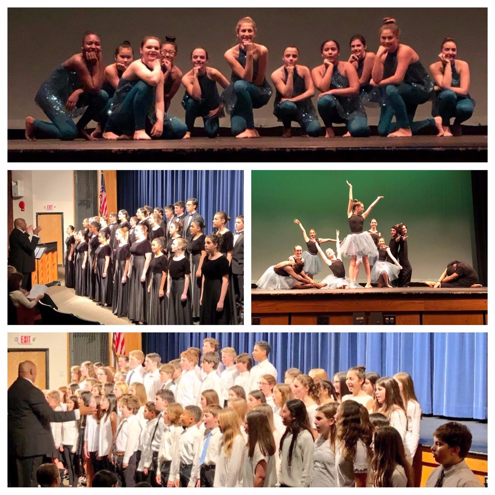 BMS and BHS Students Wow Audiences at 2017 Winter Dance and Chorus Concert