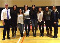 2007 Section One and Federation Varsity Girls' Basketball Championship Team Honored